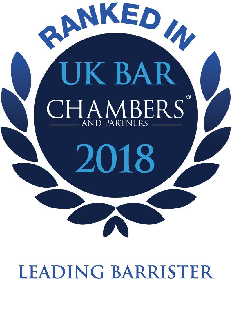 UK Bar Chambers 2018 - Leading Barrister