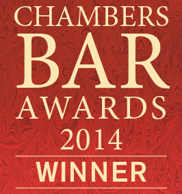 Chambers Bar Wards 2014 Winner