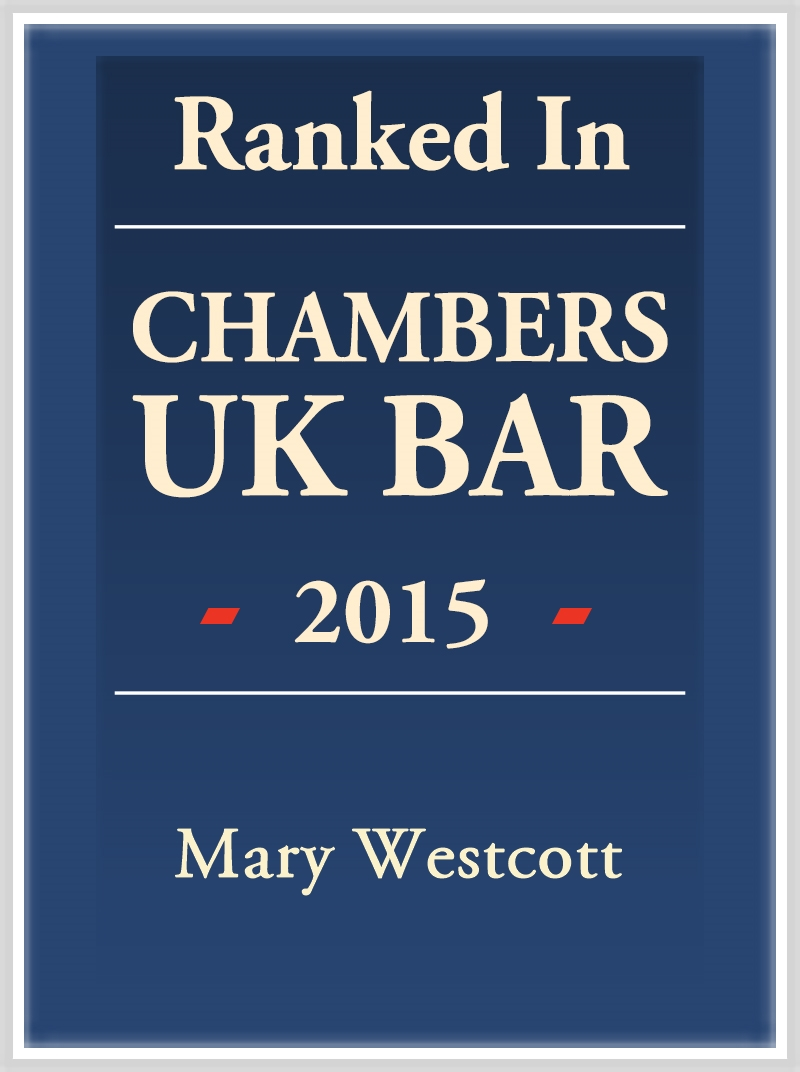 Ranked in Chambers UK Bar 2015