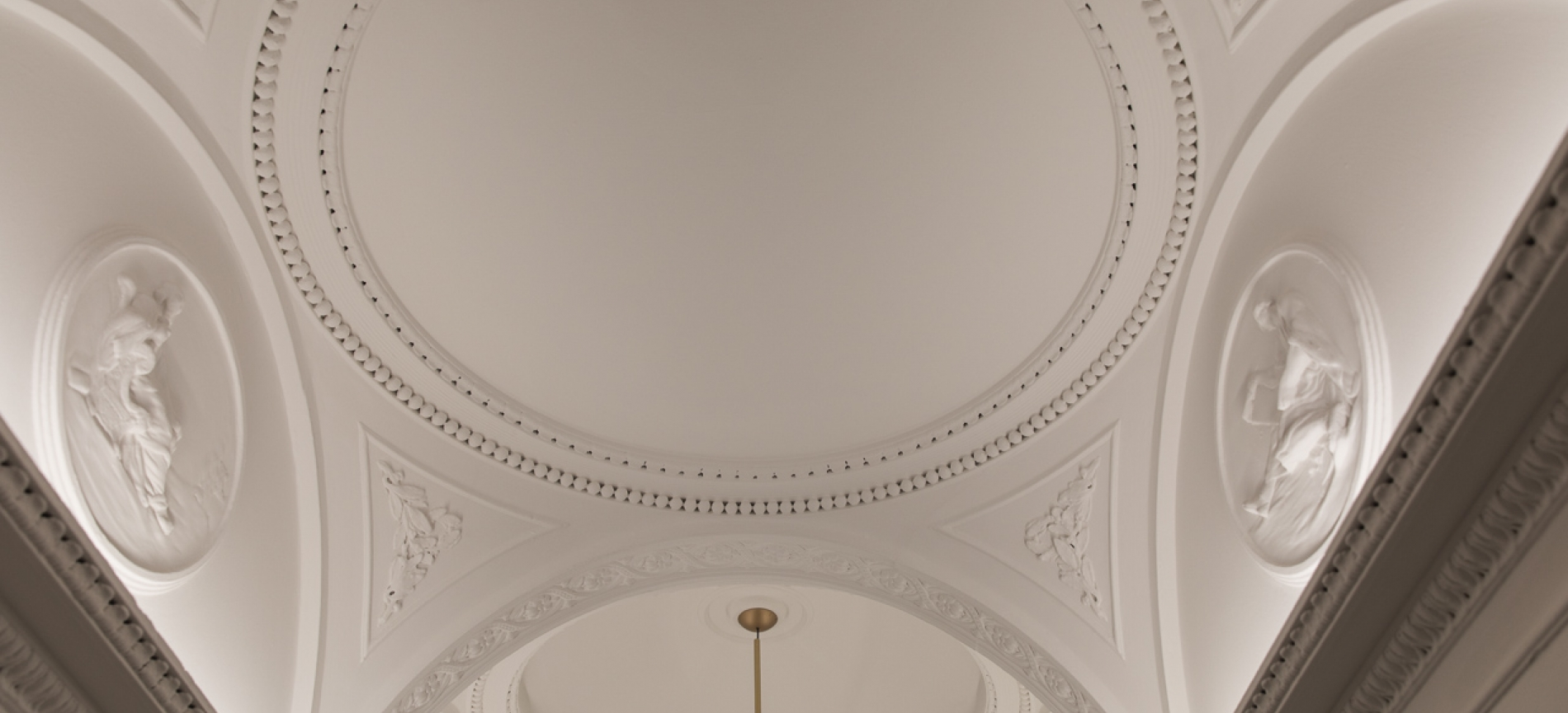 Ceiling at 54 Doughty Street